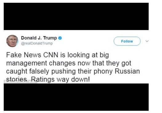 Trump tweet CNN