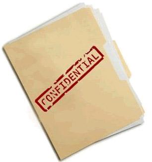 Confidential file art
