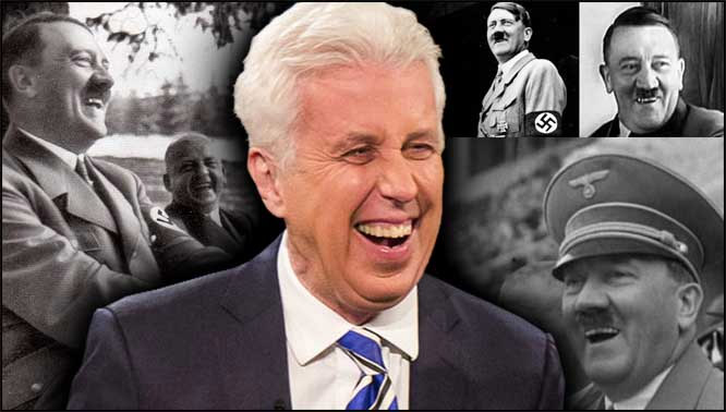 Jeffrey Lord Hitler mix