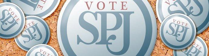 Vote SPJ logo
