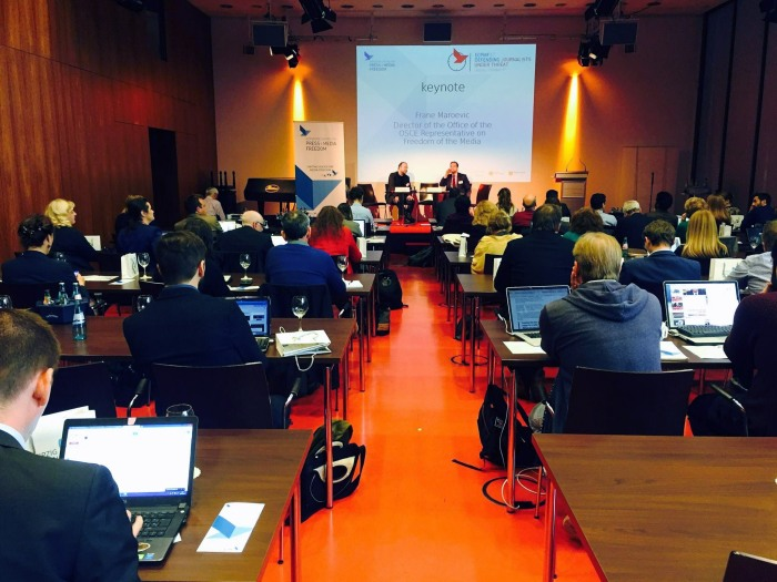 "European Center of Press and Media Freedom"" (ECPMF),"