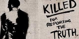 Journalists killed 1