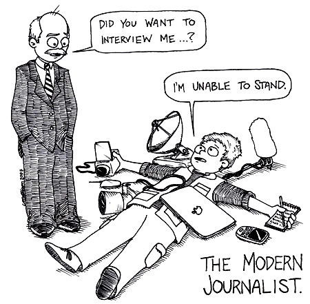 Multimedia cartoon