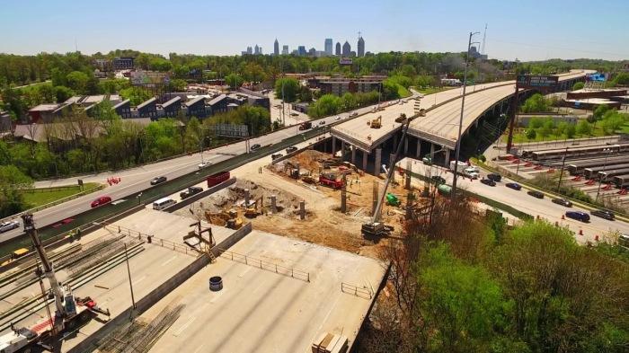 Atlanta bridge collapse You Tube photo