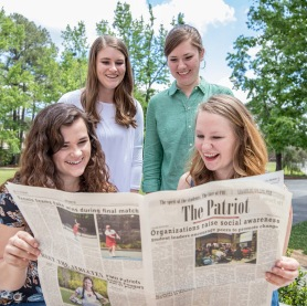 Francis Marion student newspaper the patriot