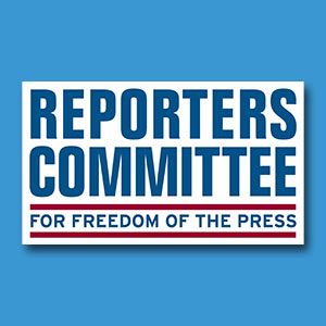 Reporter committee for the freedom of the press logo
