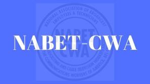 NABET CWA logo