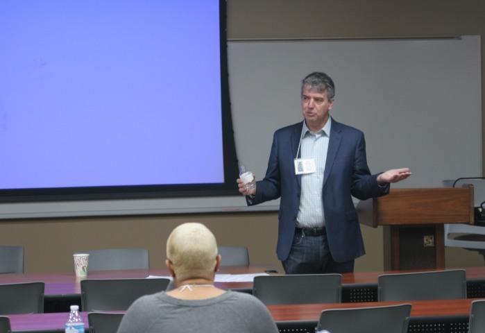 Bob Sullivan at conference