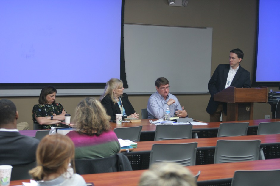 Editors Panel at conference
