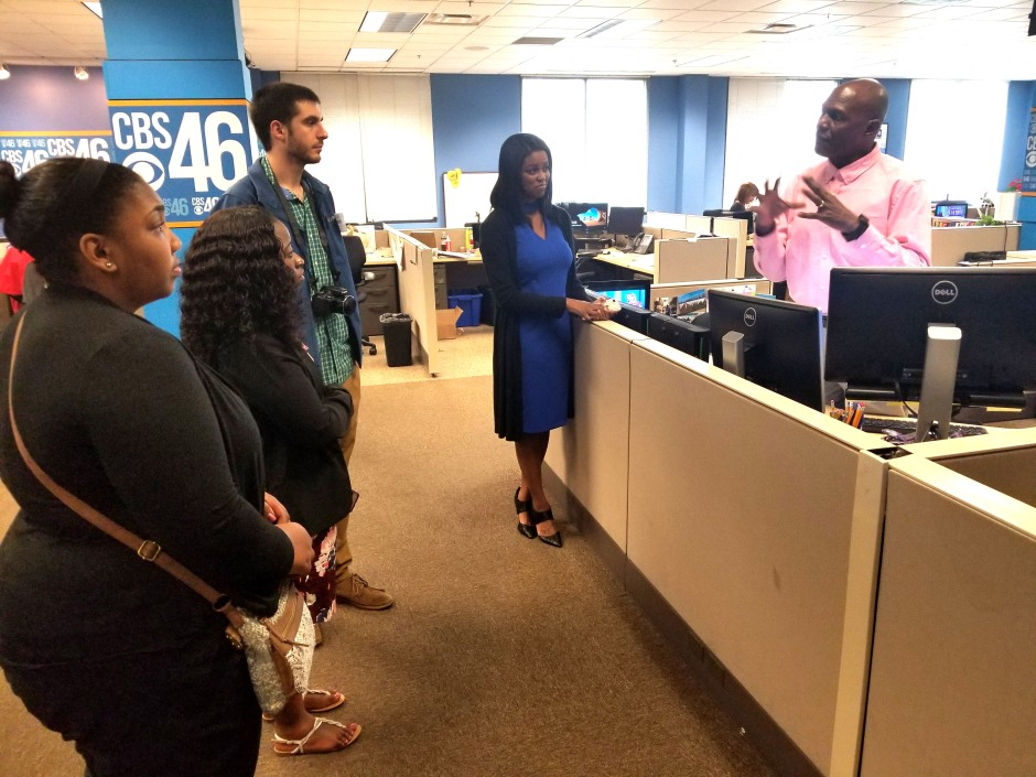 FMU trip at CBS 46 one
