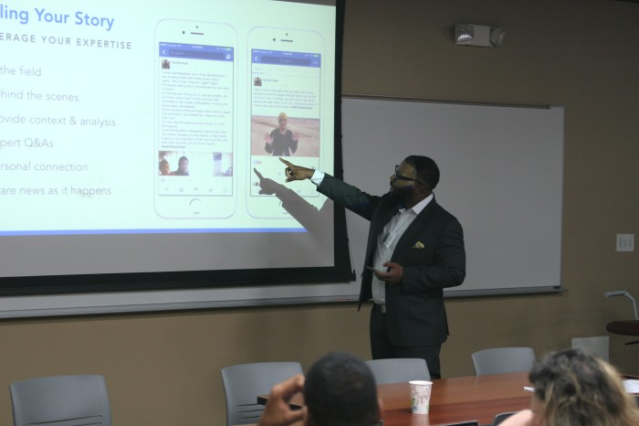 Kerwin Speight at conference