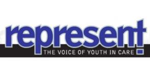 Represent magazine logo