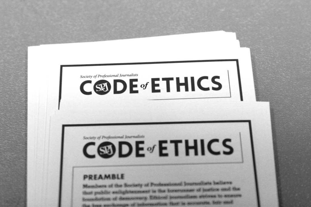 society of journalists code of ethics