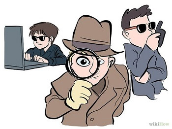 private detectives cartoon