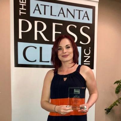 Ciara Frisbie APC award
