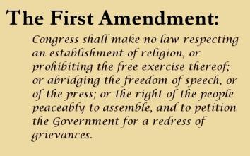 First Amendment art