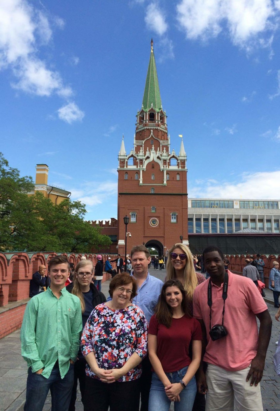 Kennesaw photo in front of cathedral