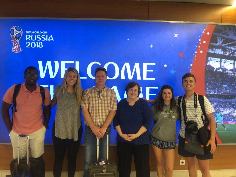 KSU students and their Trip Director (1)