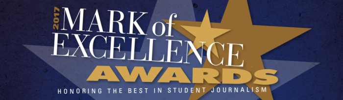 Mark of Excellence logo 2017