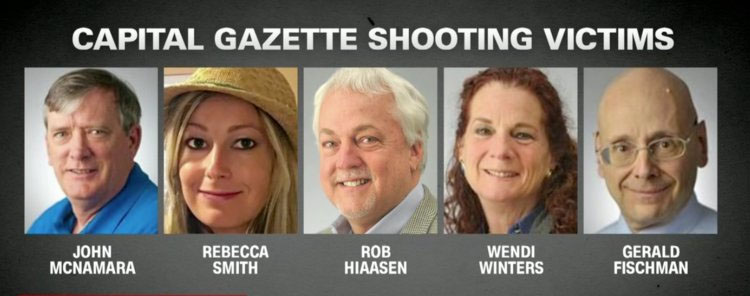 Capital Gazette journalists killed