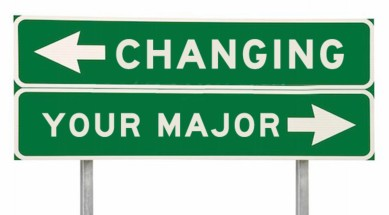 Changing your major