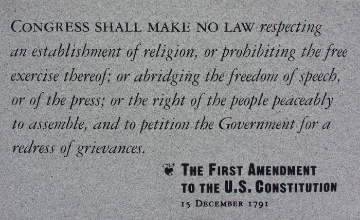 First Amendment art 3