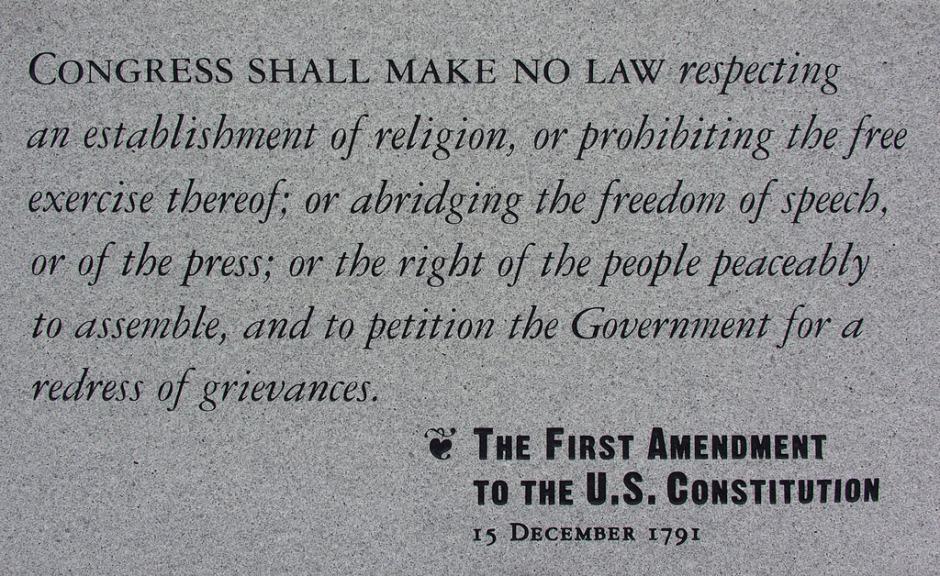 First Amendment art 3