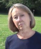 Mayor Brenda Fisk and Paint Rock