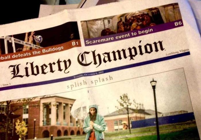 Liberty Champion newspaper FB