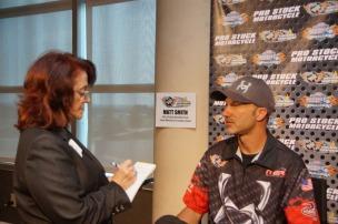 Deb Williams interviews NHRA's Matt Smith